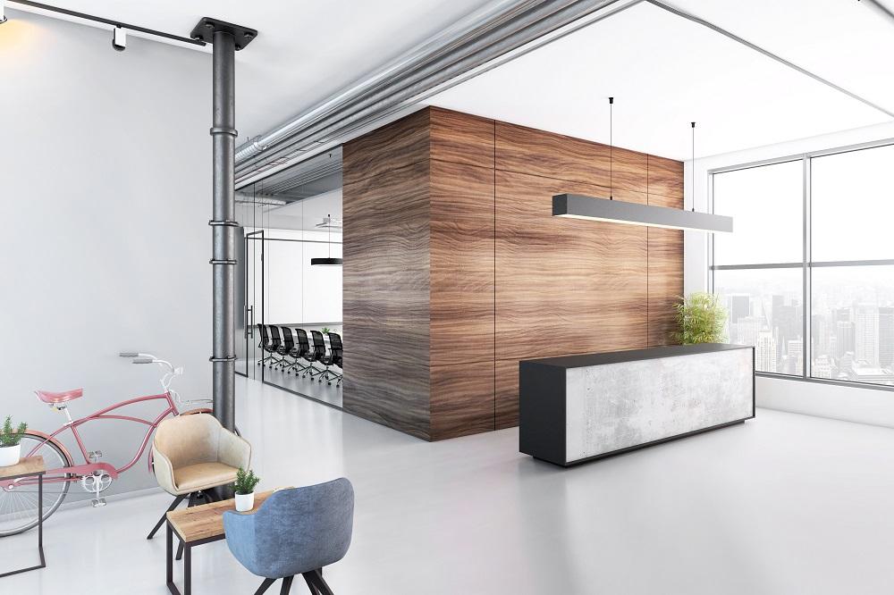 Aménagement espace travail tertiaire