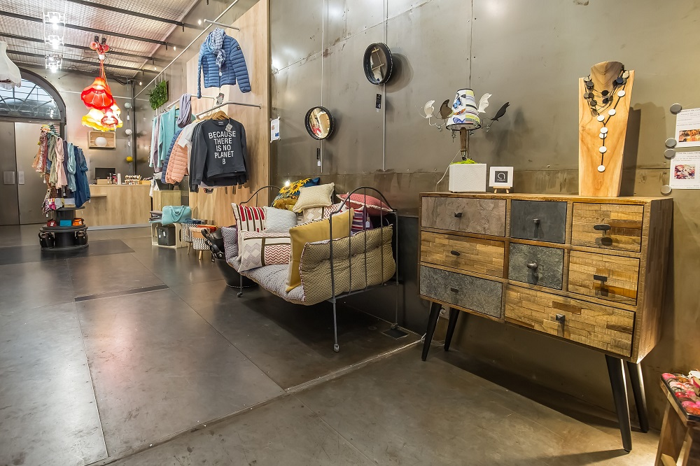 Aménagement espace commerce
